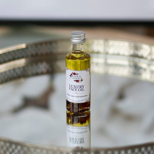 CANA Luxury Rejuvenating Face Oil with Rosehip, Argan, Carrot Seed & Jojoba
