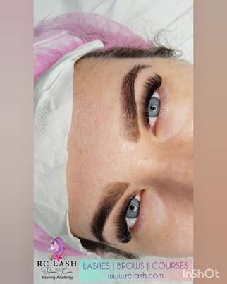 Russian Volume Eyelash Extensions & Brow Design  RC.LASH
