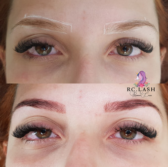 Brows shape & tint London
