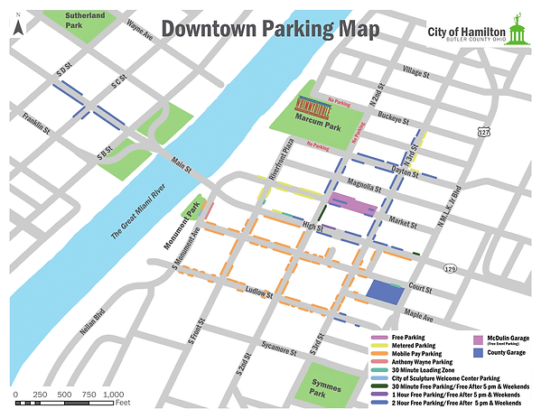 Whimmydiddle Parking Map
