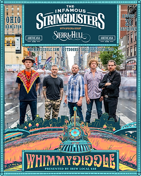 8.21 Stringdusters Poster Format w Ameri