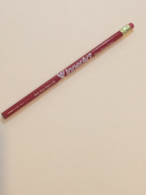 "Red Ribbon Pencil ""Run your own life""- order in multiples of 5"