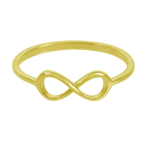 Infinity (gold plated)