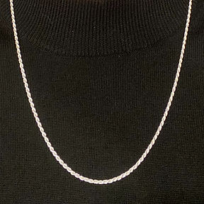 Sterling Silver Jewelry, Rope Chain, Ottawa, Ontario, Canada, United States