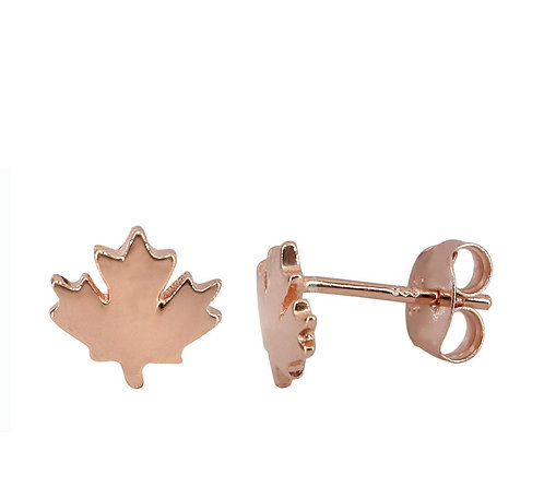 Maple Leaf (rose gold plated)