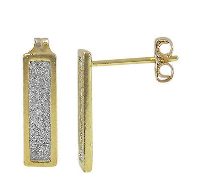 Stardust Rectangle (gold plated)