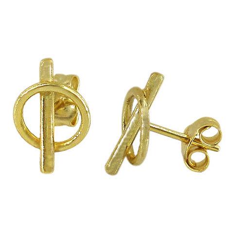 Loop & Bar (gold plated)