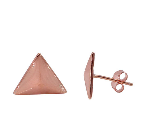 Triangle (rose gold plated)