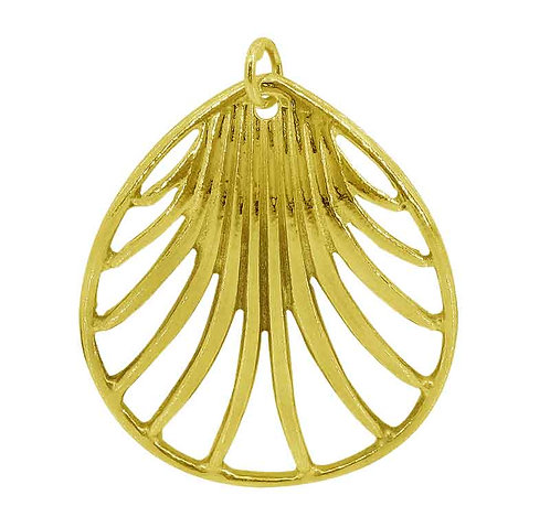 Shell (gold plated)