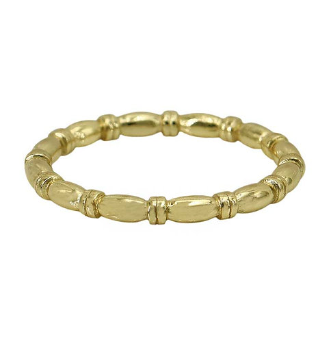 Ovular Beaded (gold plated)