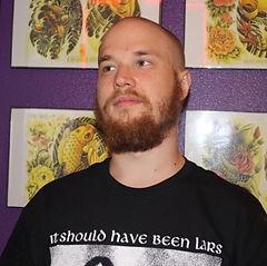 Tattoo artist Charlie at Rockstar Tattoo Las Vegas