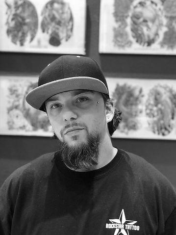 Tattoo Artist Javier from Rockstar Tattoo