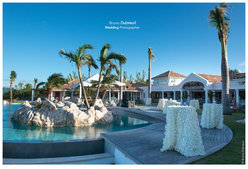 Mariage en villa de luxe