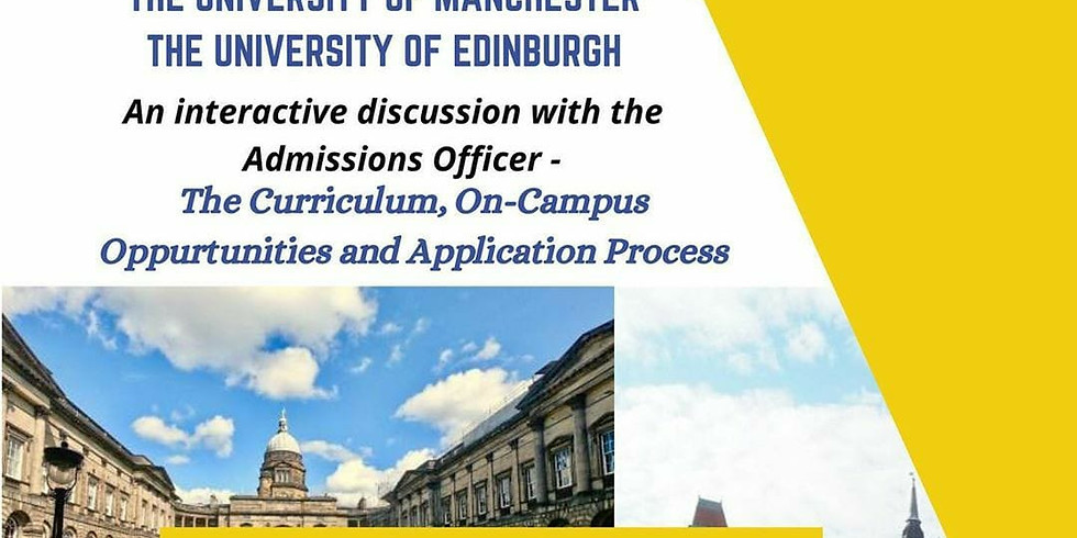 Warwick University, University of Manchester, University of Edinburgh