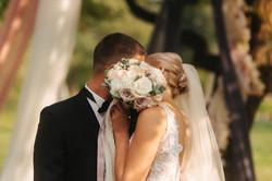 baisers des mariés