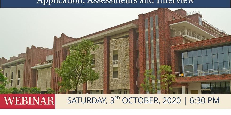 Ashoka University UG Admissions process