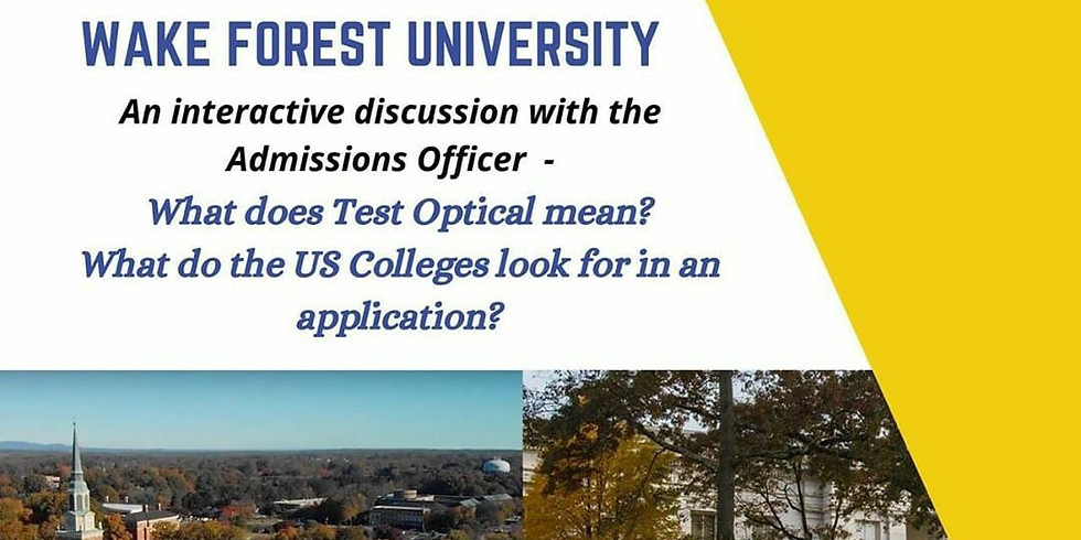 Workshop: American University and Wake Forest University