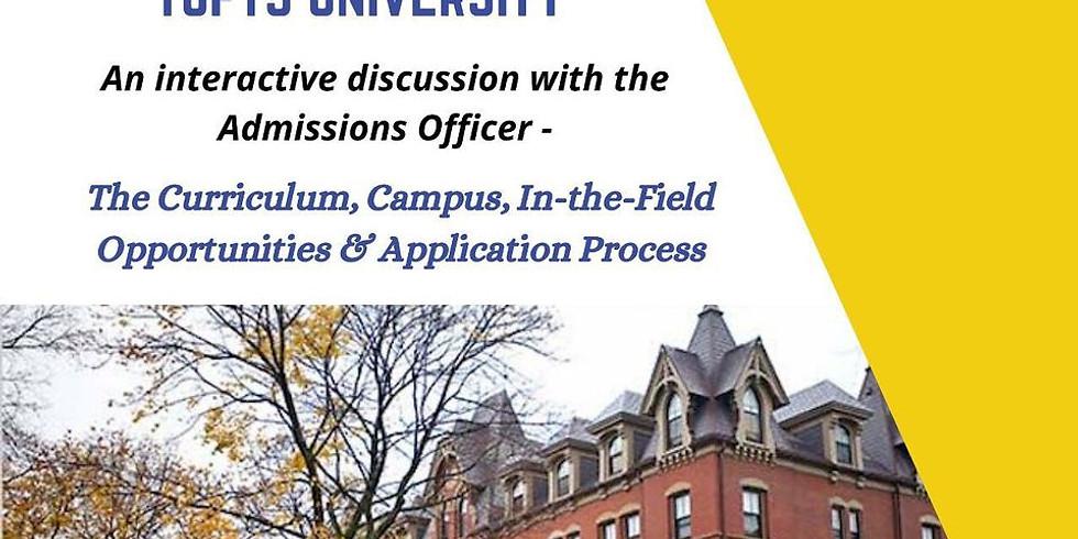 Tufts University Webinar with Worldviral