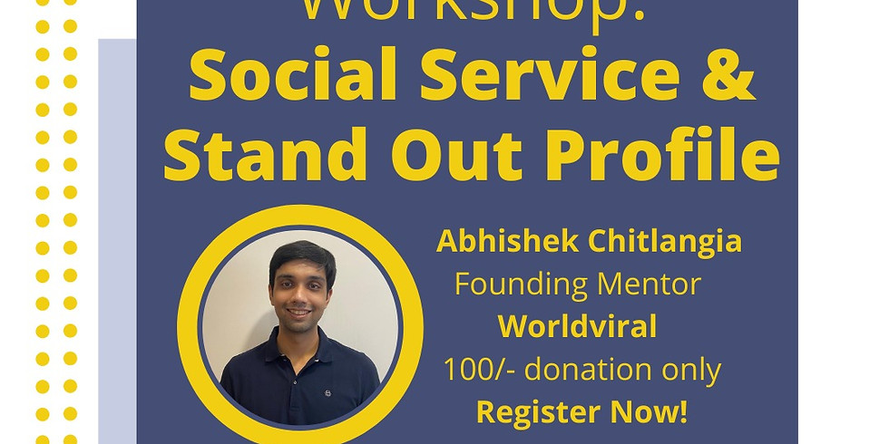 Building a successful profile - Masterclass with Abhishek Chitlangia
