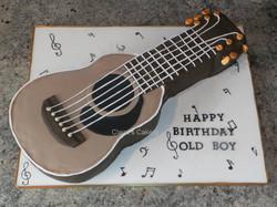 Spanish Guitar Cake