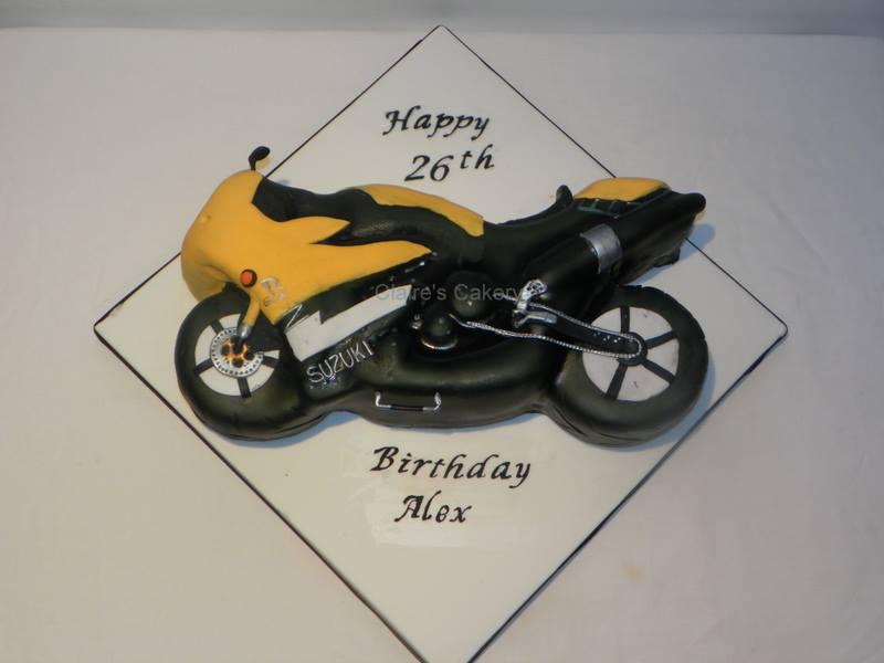 Suzuki Bike cake