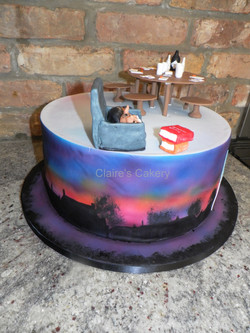 Bosham Skyline Cake