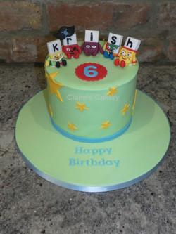 Alphablocks Cake