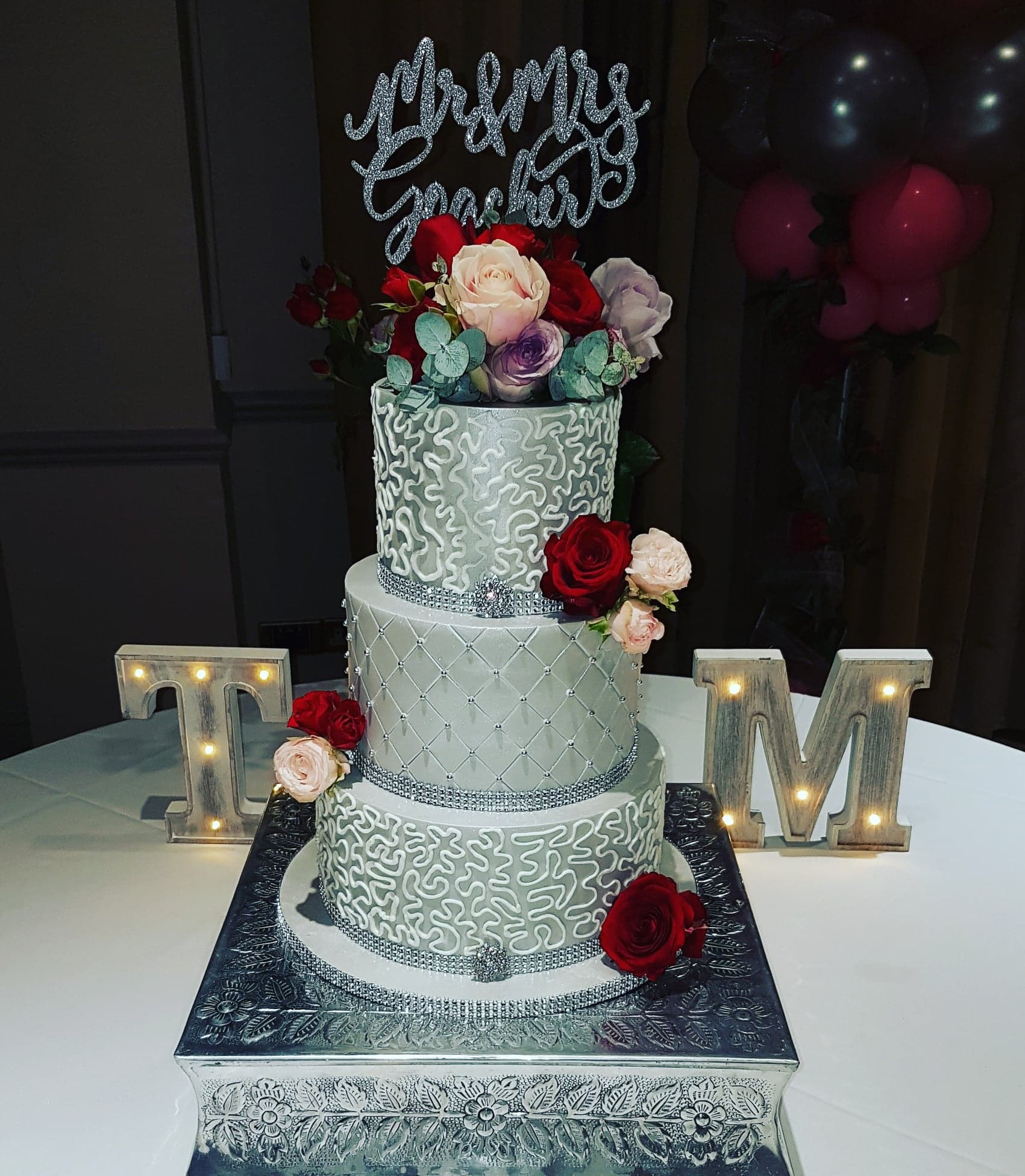 Silver Pearl cake