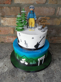 Hobby, Ski Cake