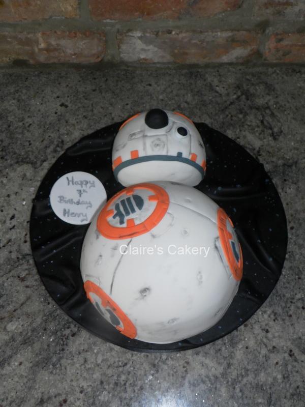 2D BB8 cake