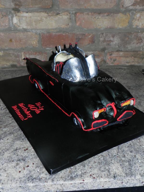 1966 Batmobile Cake