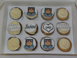 Cupcakes for dad/husband