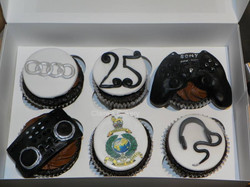 Hobby/interest cupcakes