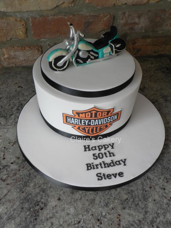 Harley Davidson Fat Boy Cake
