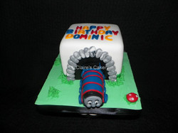Gordon the Big Engine Cake