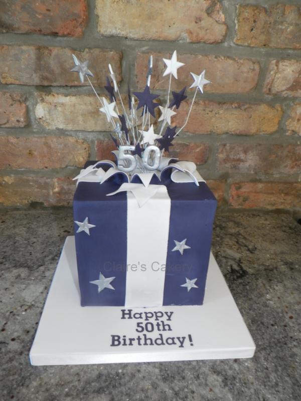 50th present cake