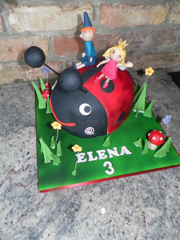 Gaston, Ben and Holly Cake