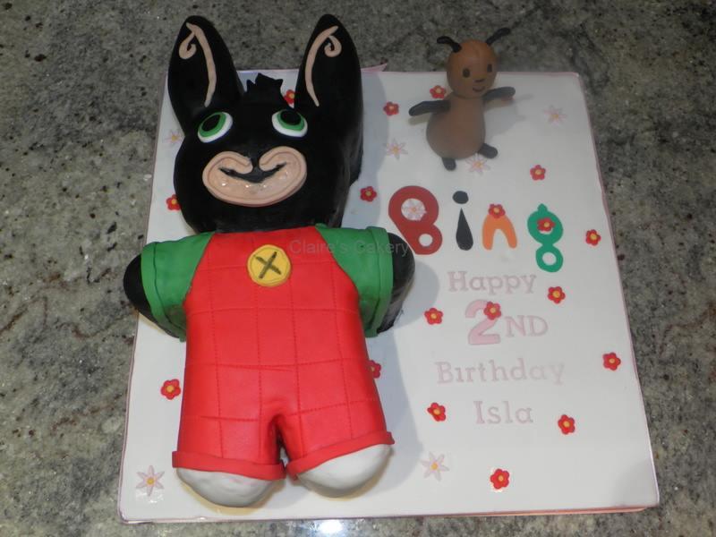 Bing the Bunny Cake