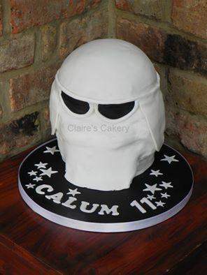 Hoff Storm Trooper Helmet Cake