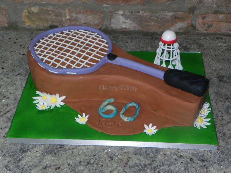 60th Badminton Cake
