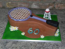 60th Badminton Cake