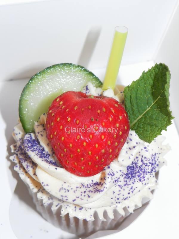 Pimms Cupcake
