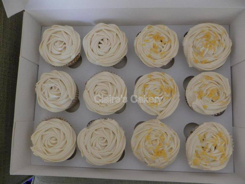 Vanilla and Lemon Cupcakes