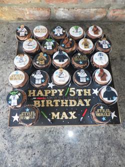 Star Wars Lego Cupcake board