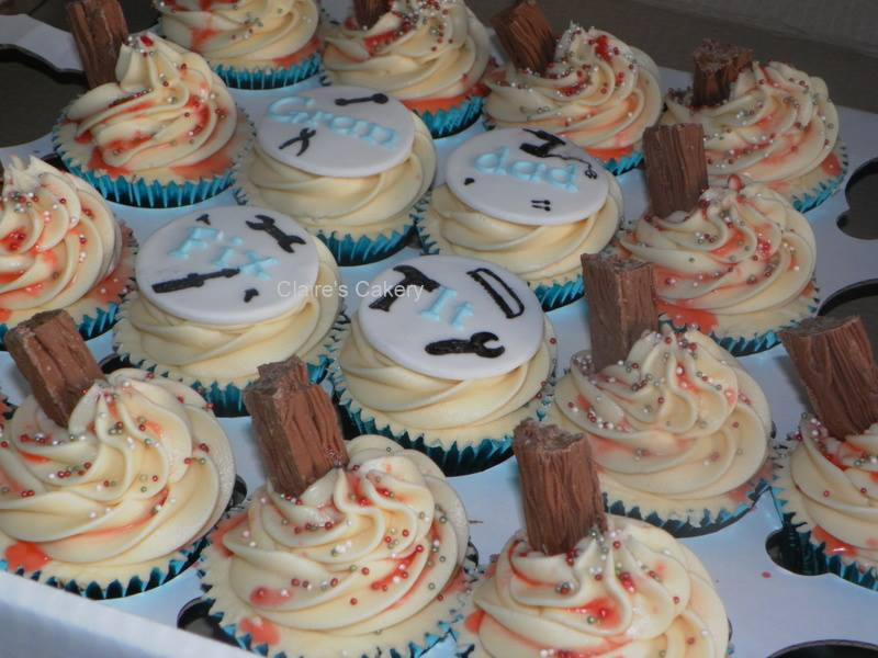 'Grandad Fix It' Cupcakes