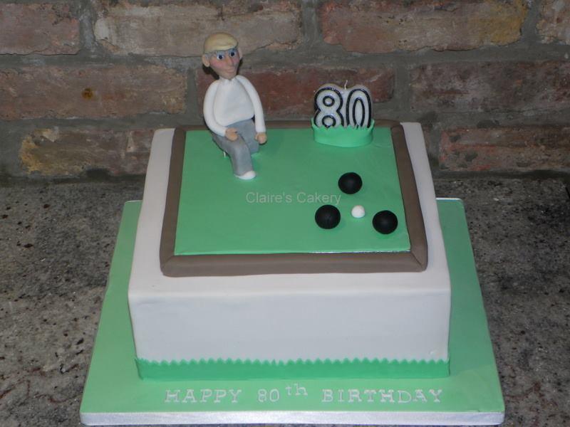 Greens Bowls Cake