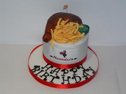 Nandos cake