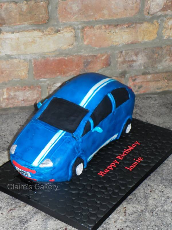 Fiat Punto Cake
