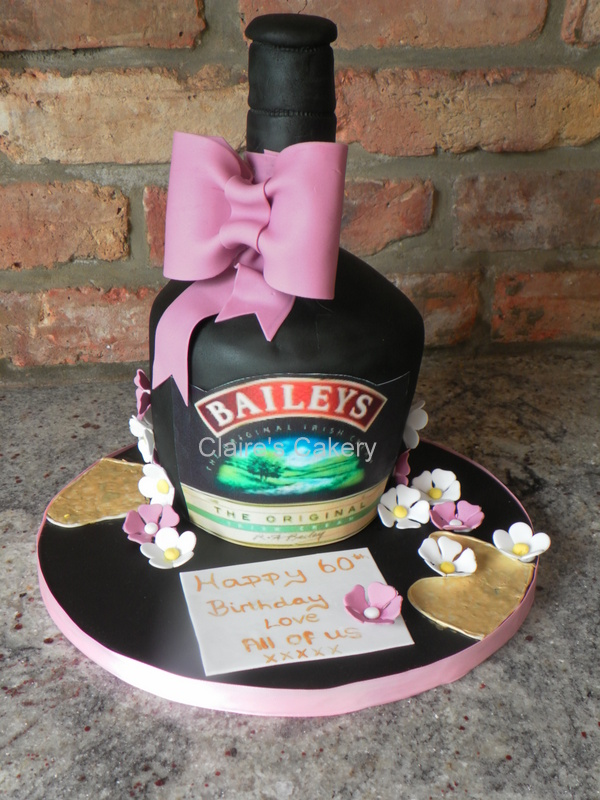 Baileys Bottle Cake