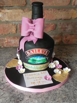 Baileys Bottle Cake